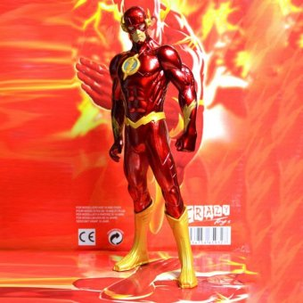 18CM The Flash Justice League Action Figure Dolls Model Hero Decoration Kids - intl Price Philippines
