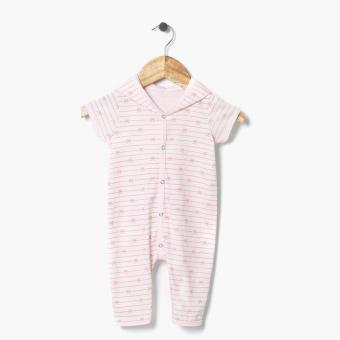 Hush Hush Girls Knot Ribbon Hooded Bodysuit (Pink) Price Philippines