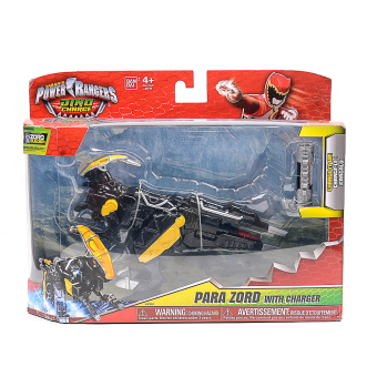 Harga Power Rangers Zara Zord with Charger
