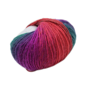 Harga MagiDeal Wool Knitting Thread Fingering Crochet Yarn Dyed#15