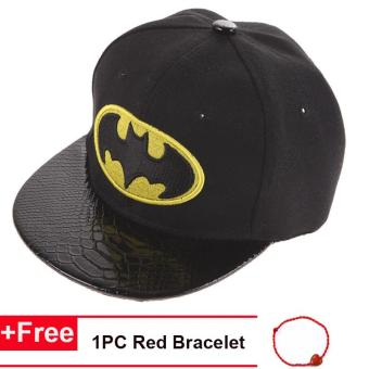 Cotton Baseball Cap Hip-Hop Hats Baby Boys Girls Flat Snapback Batman Cap Price Philippines