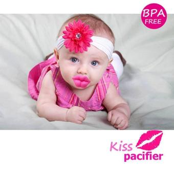 BABY DREAM KISS FUNNY PACIFIER (PINK) Price Philippines