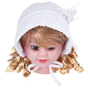 Applique Lovely Breathable Cotton Babies Princess Hat Price Philippines