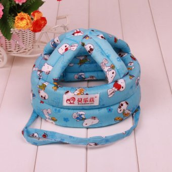 Toddler infant baby safety helmet for babies baby hat cap head protector - intl Price Philippines