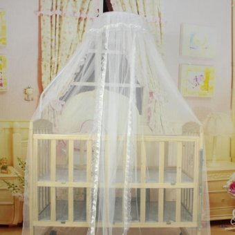 Imixlot Baby A Infants Portable Baby Bedding Crib Cot FoldingMosquito Net Infant - intl