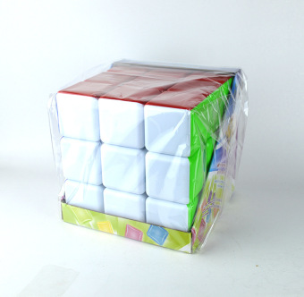 In tree 18cm solid color adhesive paper large cube three order cube