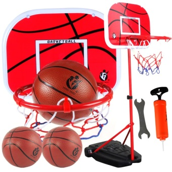 Indoor children's basketball shelf