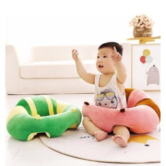 Infant Baby Sitting Training Safety Chair Nursery Seat SupportCushion Sofa Pillow Protectors (Minnie Mouse) - 2