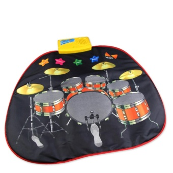 Infant educational instrument drum set childs baby music toymusical toys instruments for children kids play mat babies keyboard- intl Price Philippines