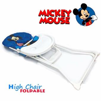 Infant to Toddler Foldable High Chair (Mickey mouse) - 2