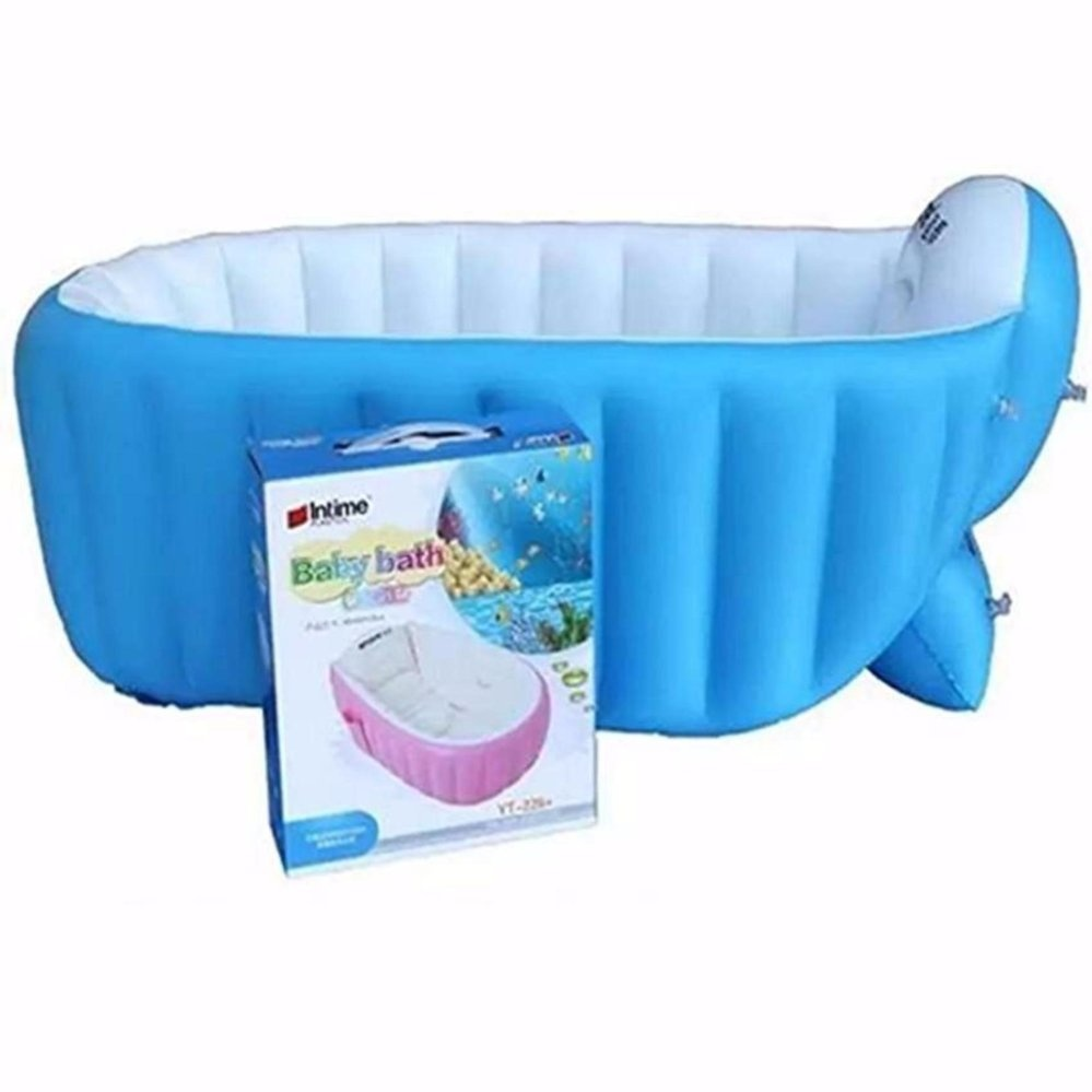 Philippines | Inflatable Baby Bath Tub (Blue) with Free Travel ...