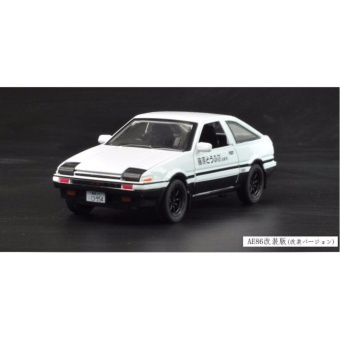 Initial D: First Stage AE86 1:32 Scale Die-cast Model Car withLight & Sound,Door Opening - intl - 3