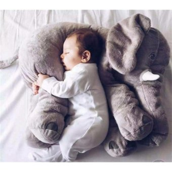 Ins elephant doll plush toy Pillow to accompany the baby to sleeptoys - intl