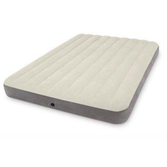 "Intex Deluxe Queen Size High-Bed With Fiber Tech 60"" x 80"" x 10"""