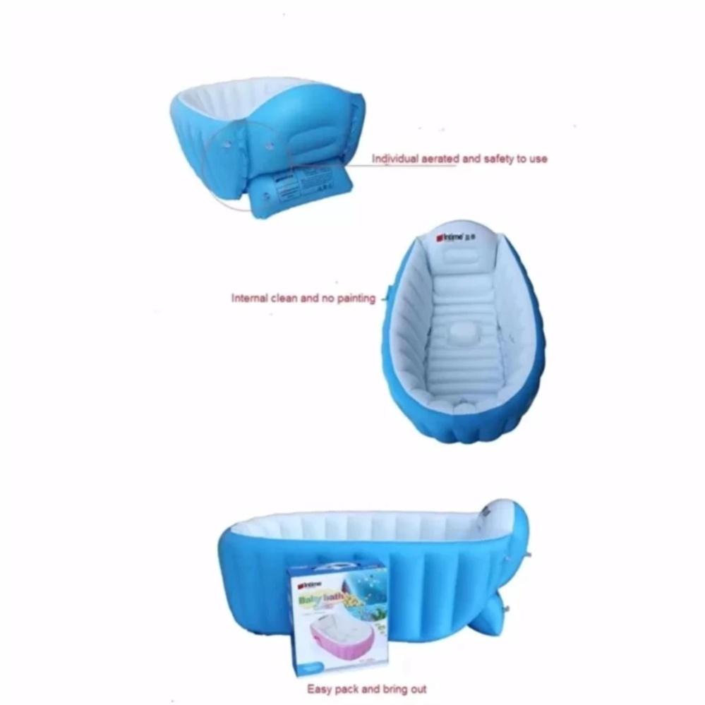 Philippines | Intime Baby Bath Tub Portable Bathtub with free hand ...