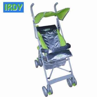 IRDY S-770AB 2-way Umbrella Stroller with Safety Bar (Green)