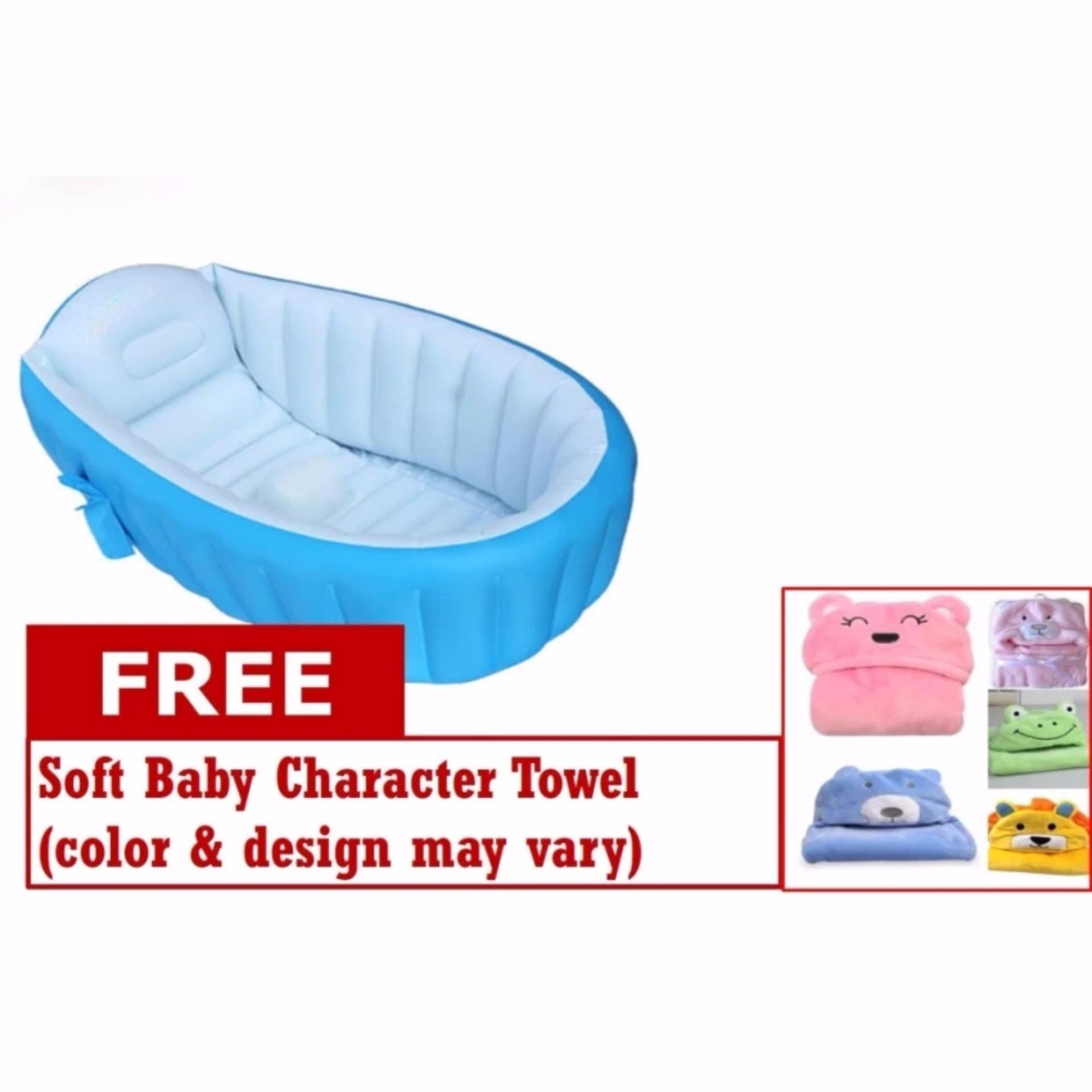 Philippines | JA Baby Portable Bath Tub with FREE Soft Baby ...