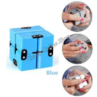 J&C Infinity Cube For Anti Anxiety Stress (Blue)