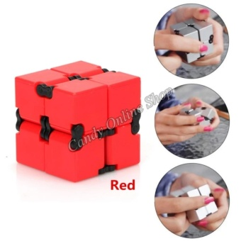 J&C Infinity Cube For Anti Anxiety Stress (Red)
