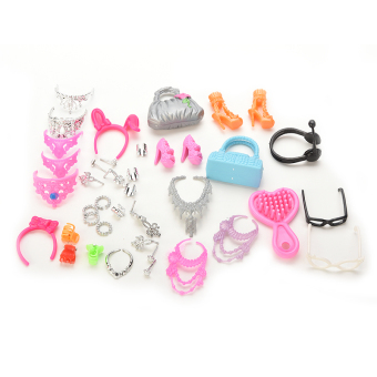 Jetting Buy Bags Necklace Combs Shoes For Barbie - intl Price Philippines