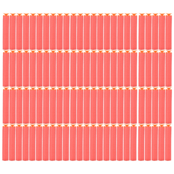 Jetting Buy Red Refill Foam Darts For Nerf N-strike 100 Pcs Price Philippines
