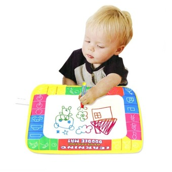 Jiayiqi Doodle Children's Drawing Painting Toys Mat Magic Pen Board Educational Toy - intl Price Philippines