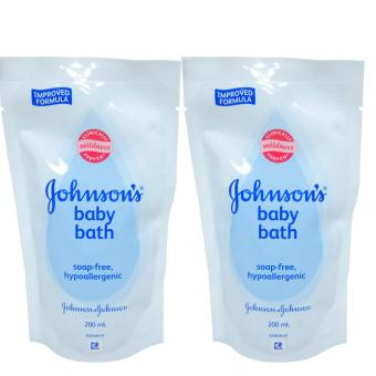 Johnson's Baby Bath Mildness Soap-Free Hypoallergenic 200ml 2's(Light Blue) 531234 W41 (MP) Price Philippines