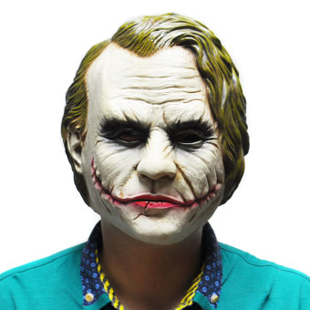 Joker Mask Batman Costume Cosplay Movie Adult Party MasqueradeRubber Latex Masks for Halloween - intl