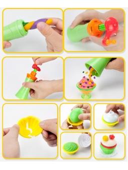 JollyChic Kid's Plasticine Animals Ice Cream Cake Safe DIY ClayKid's Toy-Ice Cream - intl - 4