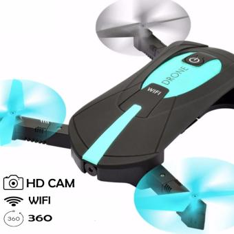 JY018 Portable HD Camera Wifi and 2.4 G Multi-band Control System Pocket Drone