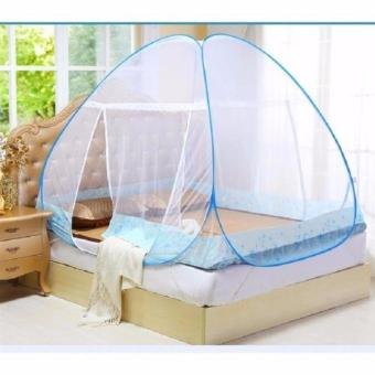 K&E Mosquito Net King White/Blue