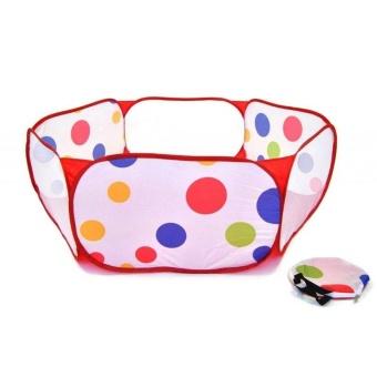 Kid 50pcs Soft Plastic Ocean Ball & Pool Swim Outdoor toy - intl - 2