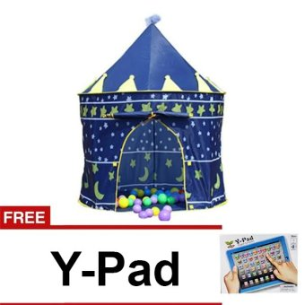 Kiddie Blue Castle Tent FREE Y Pad English Learning Computer Price Philippines