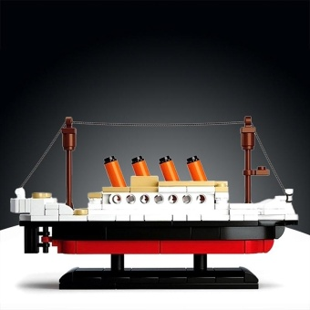 Kids 194 PCS DIY Titanic Ship Building Blocks - intl - 2