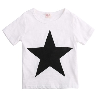 Kids Baby Boys Star T-shirt Tops Harem Pants Trousers Outfits Set Clothes - 3