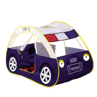 Kids Car Play Tent with Side Door Entrance for Indoor or Outdoor -white - intl