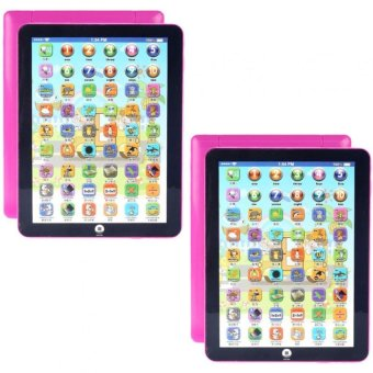 Kids Children English Learning Machine Ipad Toy EducationalComputer Big Tablet (Pink) Buy 1 Take 1 #29295