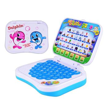 Kids Folding Multi-functional Early Educational English Letter Math Learning Music Laptop Computer Machine Toy for 3+ Years Old Kids Children - intl
