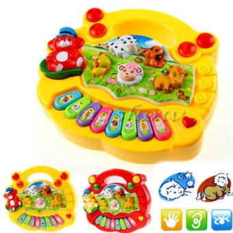 Kids Music Musical Developmental Animal Farm Piano Sound Educational Toy - INTL