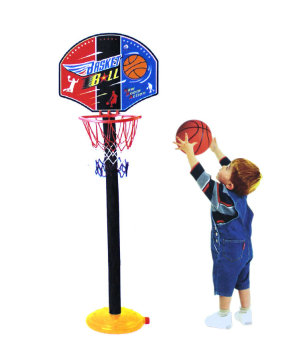 Kids' Adjustable Basketball Hoop Stand