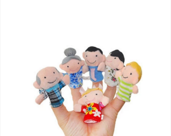 Kids' Finger Puppets Toy