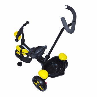 Kidsplay Kid's Bike with handle Yellow - 3