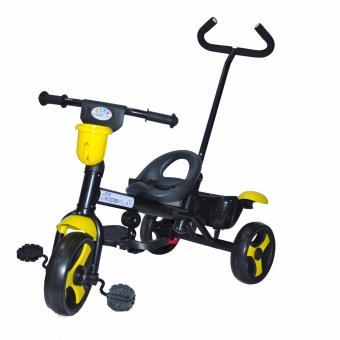 Kidsplay Kid's Bike with handle Yellow - 2
