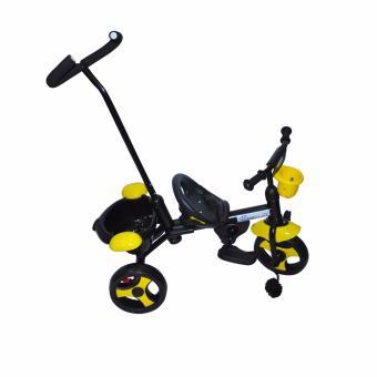 Kidsplay Kid's Bike with handle Yellow - 4