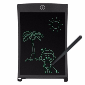 Kingdo 8.5 LCD Writing Tablet Board Office Writing Board(Black)with Stylus Pen with Free LED Watch - 2