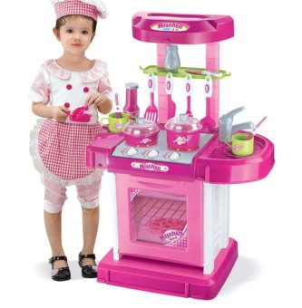 Kitchen set 008 58 lazada ph for Best kitchen set for 4 year old
