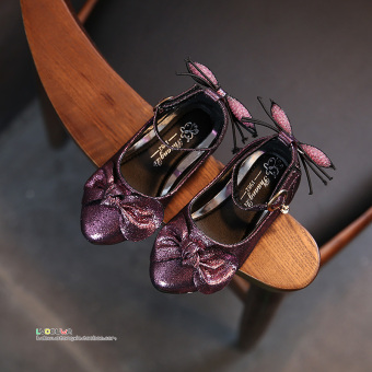 Korean-style autumn New style princess shoes girls leather shoes