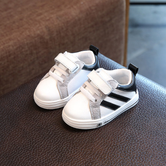 Korean-style leather boy's Baby Shoes Baobao sports shoes