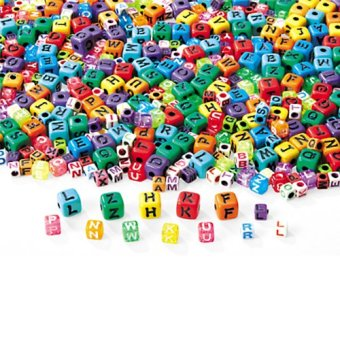 Lakeshore FF491 Alphabet Collage Beads Price Philippines
