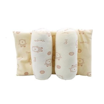 LALANG Infant Toddler Baby Soft Head Support Cushion Pillow (Beige)- intl - 2